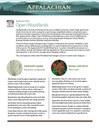 Fact Sheet: Habitat - Open Woodlands