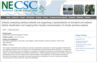Critically evaluating existing methods and supporting a standardization of terrestrial and wetland habitat classification and mapping that includes characterization of climate sensitive systems