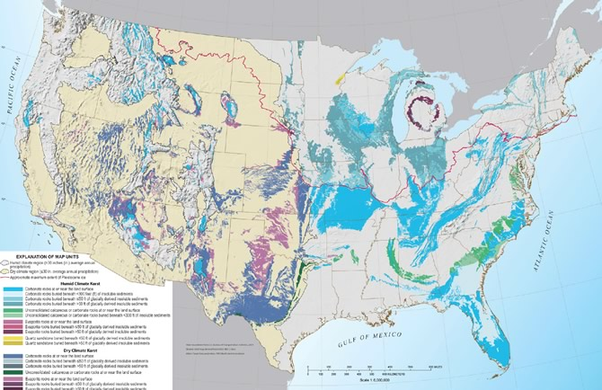 Usgs Releases A New U S Karst Map Appalachian Lcc
