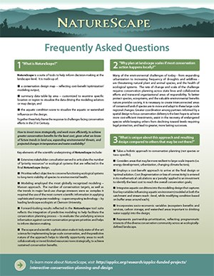 Fact Sheet: NatureScape FAQ