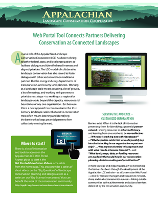 Fact Sheet: The Web Portal