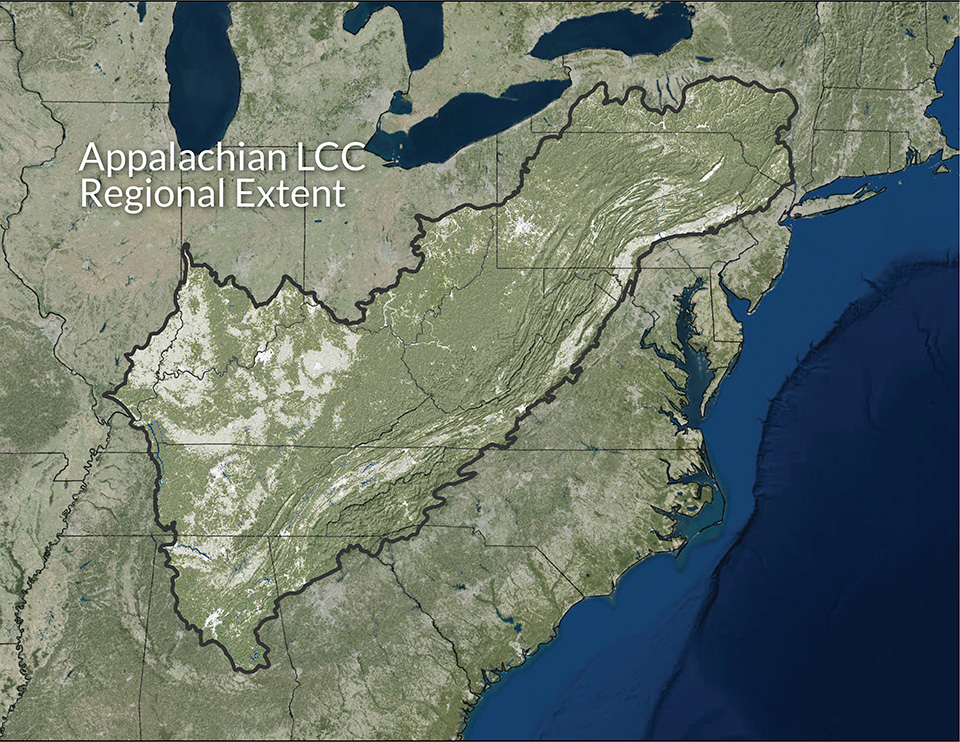 Appalachian Landscape Conservation Cooperative geographic extent
