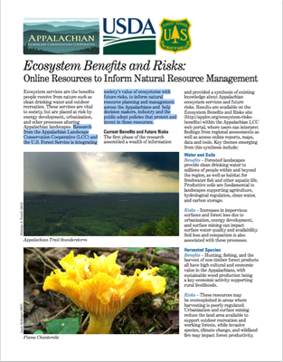 Fact Sheet: Online Resources to Inform Natural Resource Management
