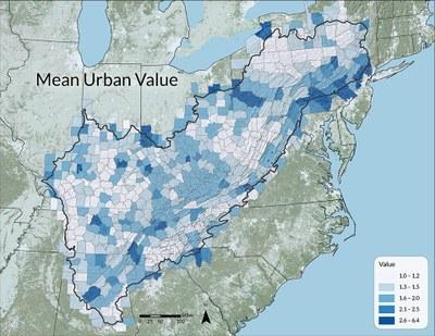 Mean Urban Value