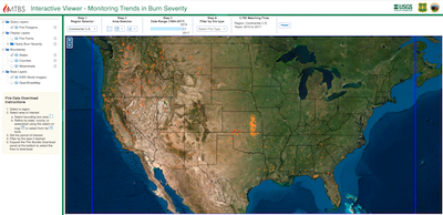 Monitoring Trends in Burn Severity Interactive Viewer