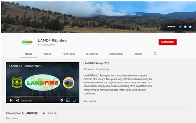 LANDFIRE YouTube Channel