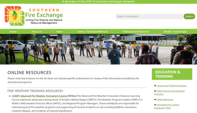 Southern Fire Exchange Online Resources