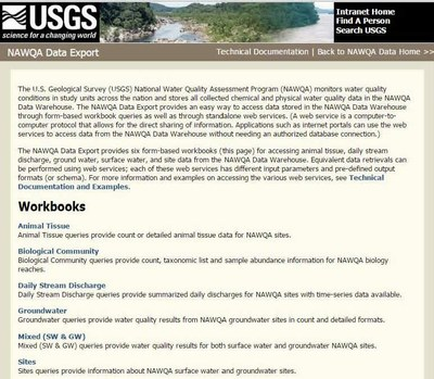 USGS National Water-Quality Assessment (NAWQA)