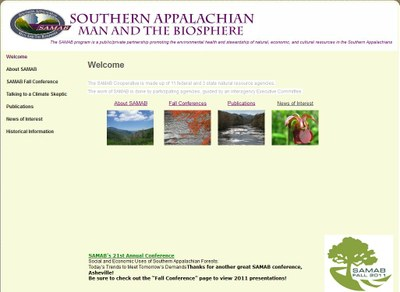 SAMAB - Southern Appalachian Man and the Biosphere