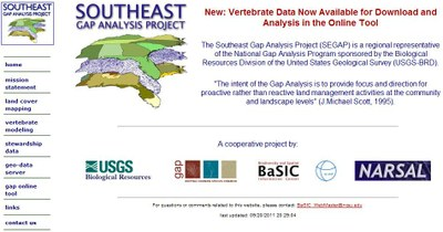 Southeast GAP Analysis Project