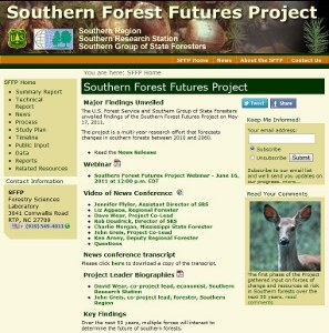 Southern Forest Futures Project
