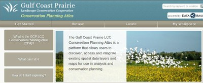 Gulf Coast Prairie LCC Conservation Planning Atlas