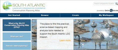 South Atlantic LCC Conservation Planning Atlas