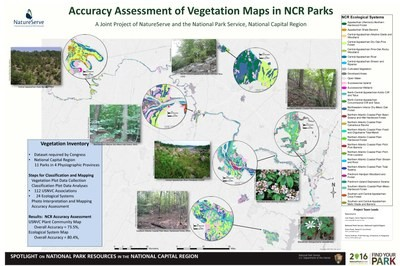 Accuracy Assessment Results for NCR vegetation maps