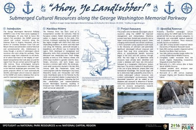 Ahoy Ye Landlubber! Submerged Cultural Resources along the GWMP