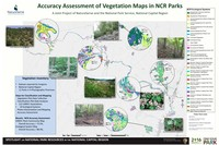 A joint project of NatureServe and the National Park Service, National Capital Region. NatureServe has completed an Accuracy Assessment of the mapping of plant communities in 11 parks in the National Capital  Region.  An Accuracy Assessment tells park managers the level of confidence they can have that a Plant Community is correctly mapped. The plant communities were classified in 2008 and mapped by Natureserve through a partnership with the National Capital  Region, NPS Vegetation Inventory Program, and the Virginia, Maryland and West Virginia Natural Heritage Programs. The maps were completed in 2012. NCR plant communities are classified at the Association level of the United States National Vegetation Classification, which is the NPS standard.  Additionally, each park with a surrounding 0.5-mile buffer was mapped according to the Ecological Systems classification. This effort resulted in mapped locations of 112 Associations and 24 Ecological Systems across  11 NCR parks.  These products provide resource managers with a robust classification of their plant communities within  the regional landscape, and maps which will help them understand the distribution of plant communities within  their parks.  Workshops will be held at parks to demonstrate uses of the classification, field keys, and maps of plant communities.
