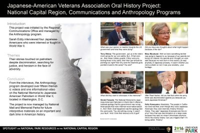 Japanese American Veterans Association Oral History Topic