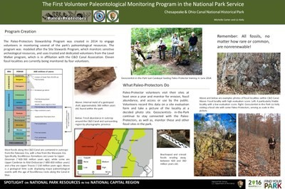 Paleo-Protectors: the First Volunteer Monitoring of Paleontological Resources within the National Park Service