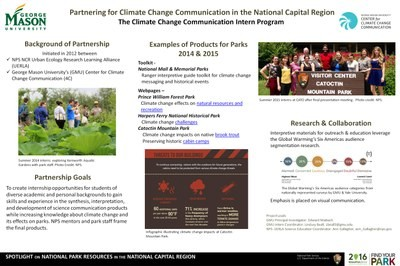 Partnering for Climate Change Communication in the National Capital Region