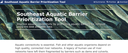 Southeast Aquatic Barrier Prioritization Tool