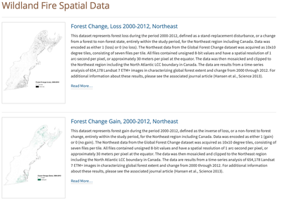 Wildland Fire Spatial Data