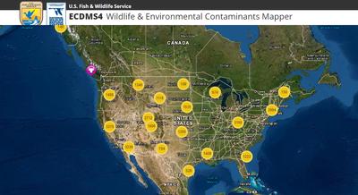 Wildlife & Environmental Contaminants Mapper