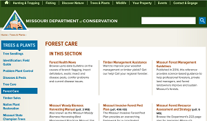 Missouri Department of Conservation-Forest Care