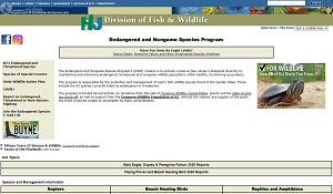 New Jersey Division of Fish and Wildlife's Endangered and Nongame Species Program