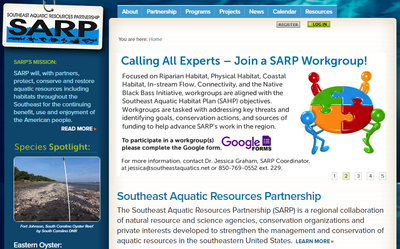 Southeast Aquatic Resources Partnership SARP