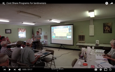 Cost Share Programs for landowners
