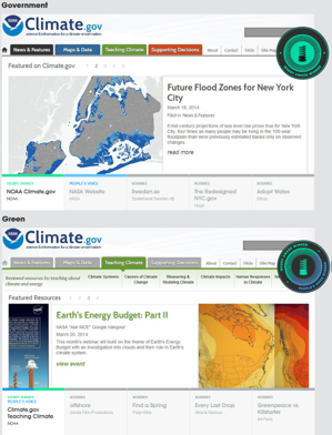 Climate.gov wins two Webby Awards and a People's Voice Award!