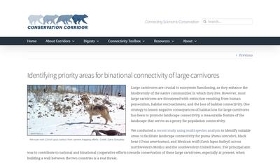 Conservation Corridor April 2021 Newsletter