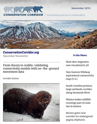 Conservation Corridor November 2019 Newsletter