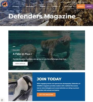 Defenders of Wildlife-Defenders Magazine
