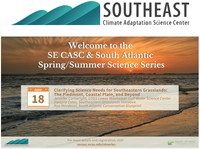 You're Invited - Clarifying Science Needs for Southeastern Grasslands: The Piedmont, Coastal Plain, and Beyond-June 18, 2020