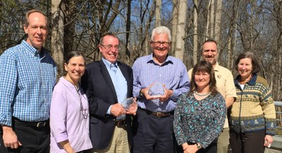 Executive Committee Meets to Thank Outgoing Chair and Vice Chair for Tremendous Leadership