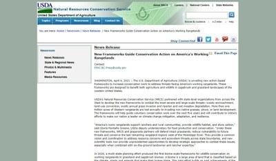 New Frameworks Guide Conservation Action