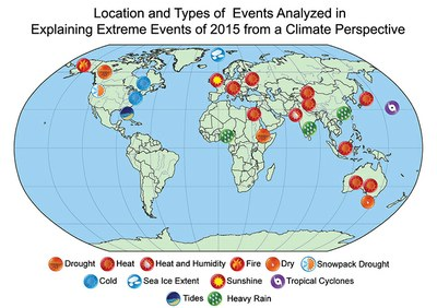 Scientists: Strong evidence that human-caused climate change intensified 2015 heat waves