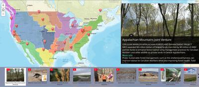 Story Map Illustrates Accomplishments of Migratory Bird JVs