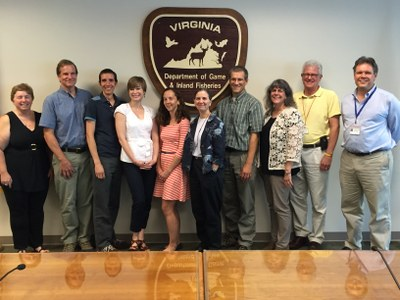 Virginia Department of Game and Inland Fisheries Convenes Meeting with 3 LCCs