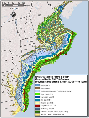 Application of the Coastal and Marine Ecological Classification Standards (CMECS) to the Northeast