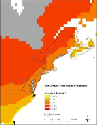Climate Change Vulnerability Index for Northeast species