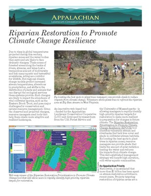 Riparian Restoration Decision Support Tool Fact Sheet