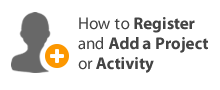 How to Register and Add a Project