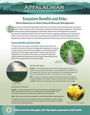 Fact Sheet: Ecosystem Benefits and Risks