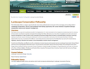 Landscape Conservation Fellowship