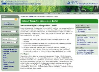 National Geospatial Management Center
