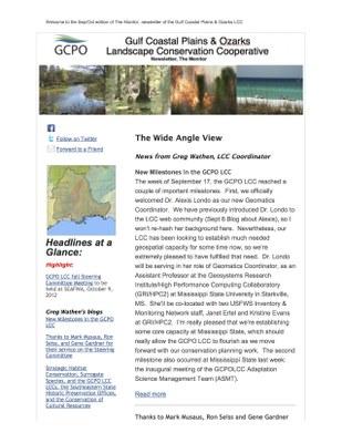 GCPO Newsletter