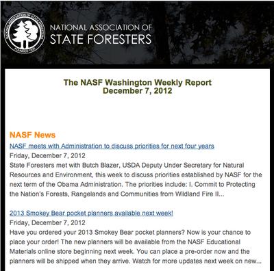 NASF Newsletter