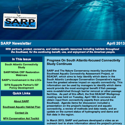 SARP Newsletter Image